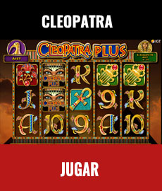 cleopatra-tragamonedas