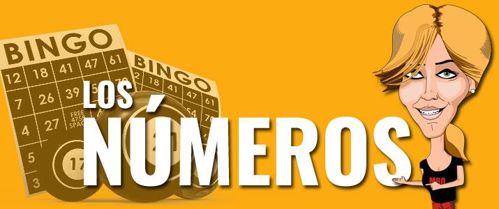 Los números del bingo y sus significados, apodos o motes