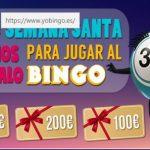 Gana hasta 300 euros en Semana Santa con YoBingo