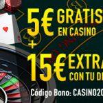 Consigue dinero gratis para jugar esta semana en Sportium