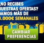 William Hill reparte 8.000 euros semanales con sus ofertas