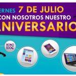 YoBingo celebra su aniversario con bonos, portátiles y smartphones de regalo