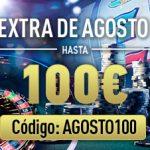 Hasta 100 euros de bono en Sportium sólo en agosto