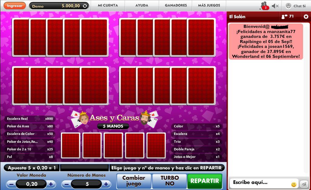 botemania-juego-video-poker