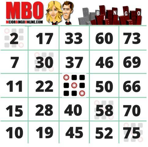 el bingo online de 75 bolas