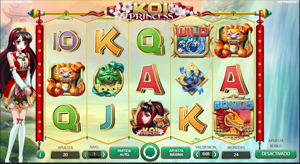 koi princess slot yobngo