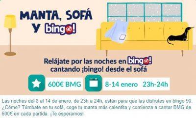 sofa tombola premio bingo