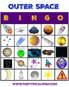 bingo espacial