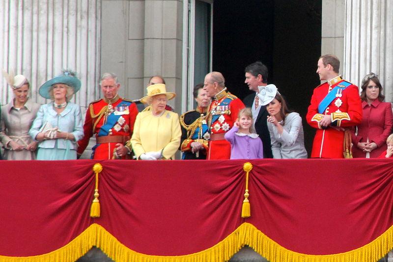 familia real británica bingo