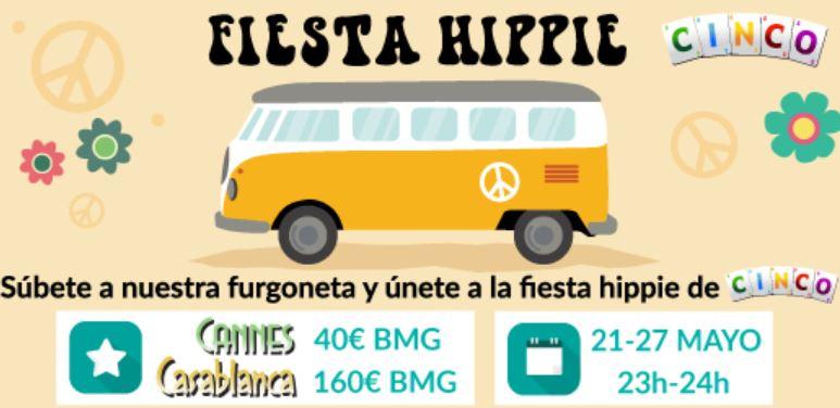 la fiesta hippie de tombola