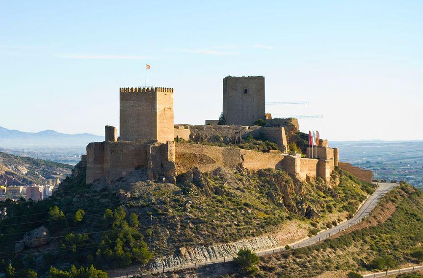 castillo de lorca murcia
