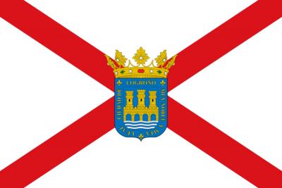 logroño bandera
