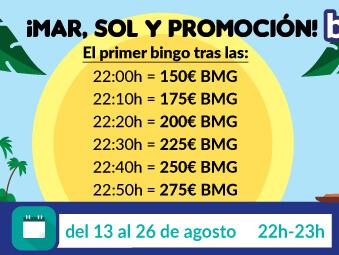 Promoción Tómbola Bingo