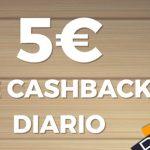 5€ de cashback a diario en videobingos de Pastón