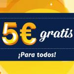 Tómbola regala 5 euros gratis a todos sus usuarios