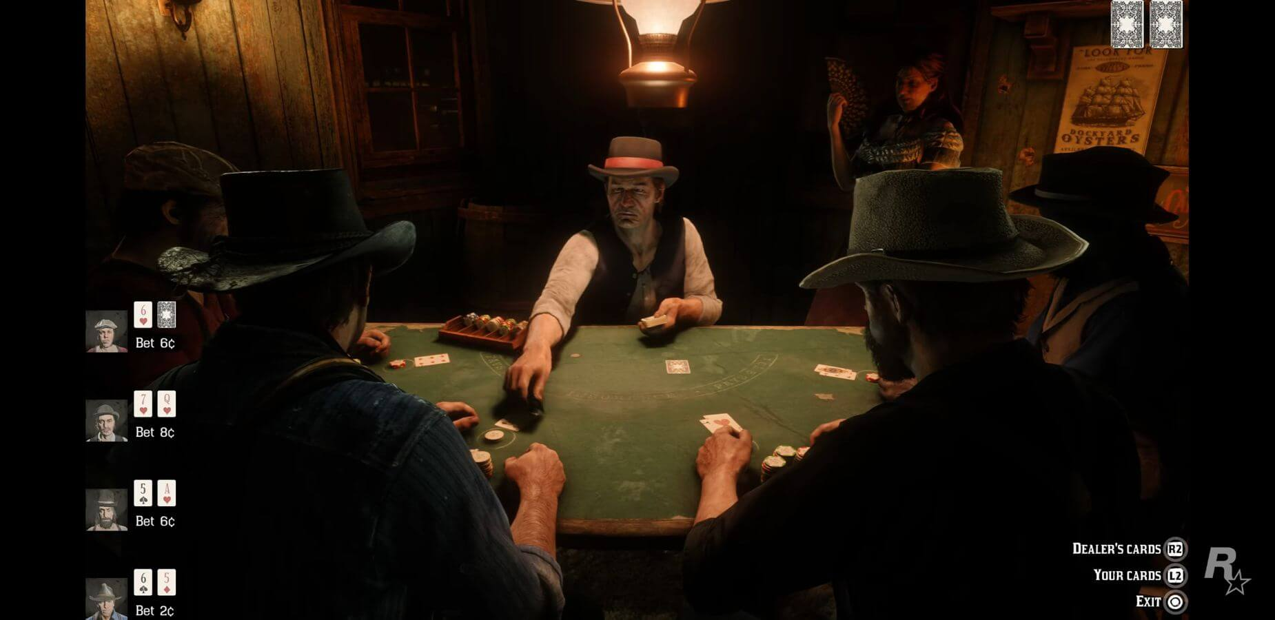 Red Dead Redemption Blackjack