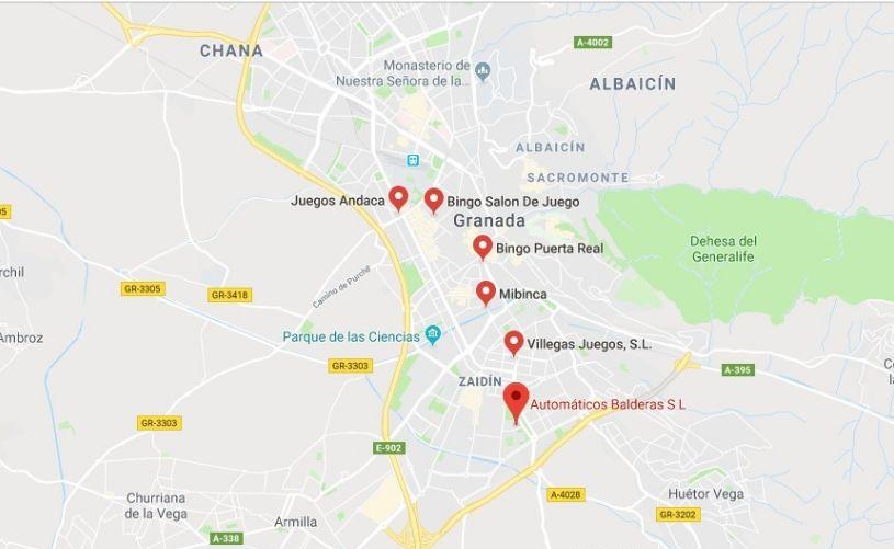 Bingos en Granada