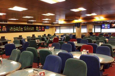 Mesas del Bingo Royal Coruña