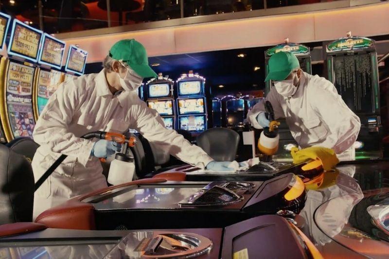 Desinfección en Bingo Oasis